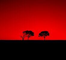 En Rouge Et Noir by Paula McManus