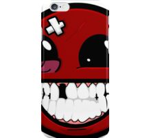 Smiley ball - Super Meat Boy iPhone Case/Skin