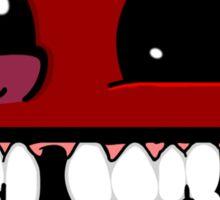 Smiley ball - Super Meat Boy Sticker