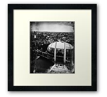 A View from the London Eye Framed Print
