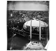 A View from the London Eye Poster