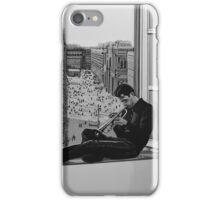 Chet Baker painting iPhone Case/Skin
