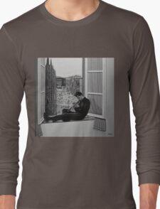 Chet Baker painting Long Sleeve T-Shirt