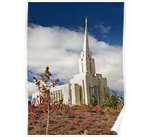 Oquirrh Mountain Temple, November Poster