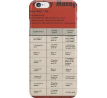 United States Department of Agriculture Poster 0315 Good Poultry management iPhone Case/Skin