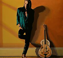 Chris Whitley painting by PaulMeijering