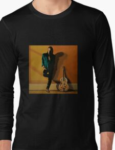 Chris Whitley painting Long Sleeve T-Shirt