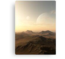 Planet Rise Canvas Print