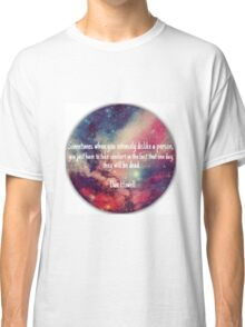 Danisnotonfire 'Sometimes when you intensely dislike a person...' quote Classic T-Shirt