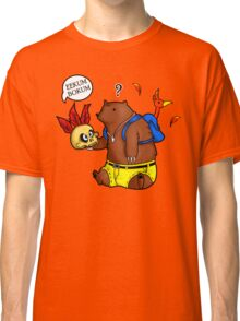 A Confused Bear and his Bird Classic T-Shirt