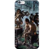 Robot Angel Painting 015 iPhone Case/Skin