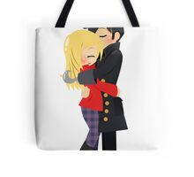 OUAT - Captain Hook and Emma Tote Bag