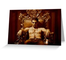 Young Lord Montez Greeting Card