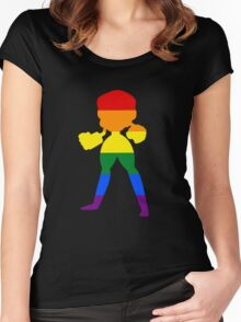 Gem Pride Women's Fitted Scoop T-Shirt