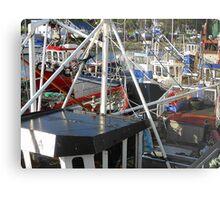 Boats Galore Metal Print