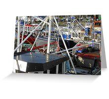 Boats Galore Greeting Card