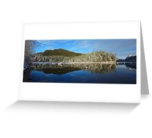 Winter Paradise Greeting Card
