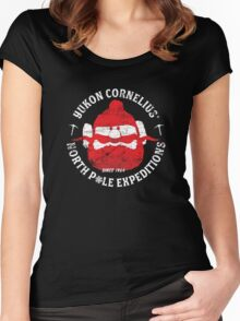 Yukon Cornelius North Pole Expeditions Women's Fitted Scoop T-Shirt
