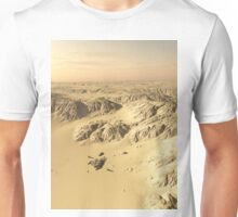 Desert Spaceship Crash Site Unisex T-Shirt