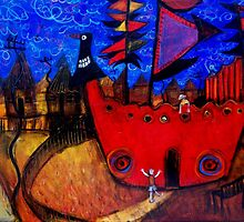 the big red boat..(kids playground) by glennbrady