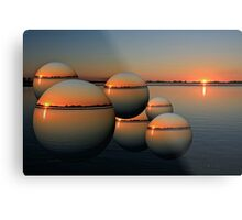2010 Flood Metal Print
