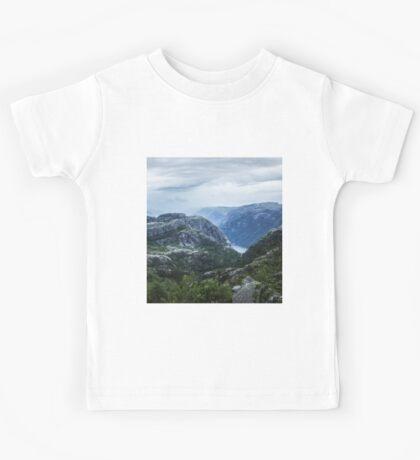 Fjord landscape Kids Tee