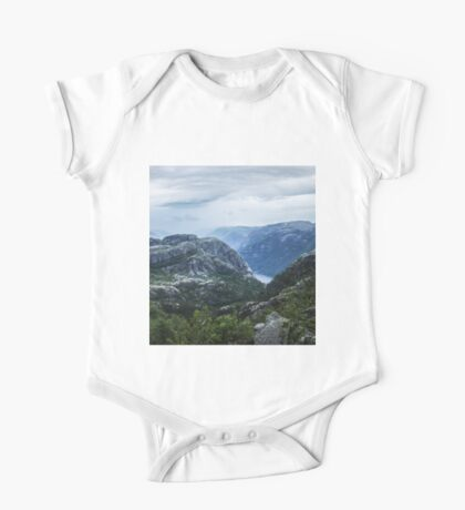 Fjord landscape One Piece - Short Sleeve