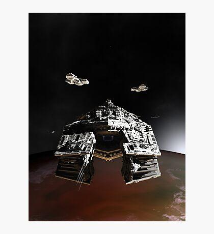 Orbital Insertion Photographic Print