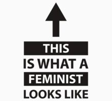 This Is What A Feminist Looks Like with arrow by feministshirts