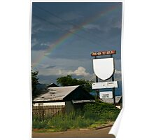 clean rooms, rainbow Poster