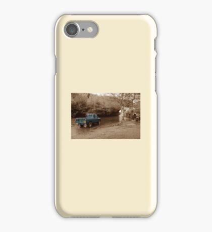 Landrover vs the river iPhone Case/Skin