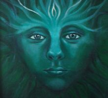 Feeorin - Green Man by Cheryl White