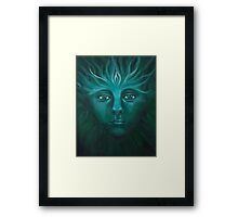 Feeorin - Green Man Framed Print