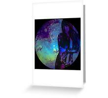 Galaxy Sunny Greeting Card
