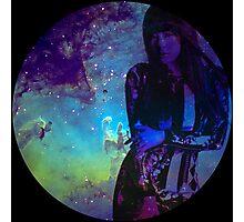 Galaxy Sunny Photographic Print