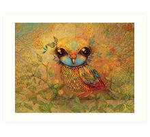 The Love Bird Art Print