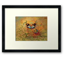 The Love Bird Framed Print