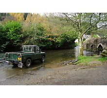 Landrover and the Ford  Photographic Print
