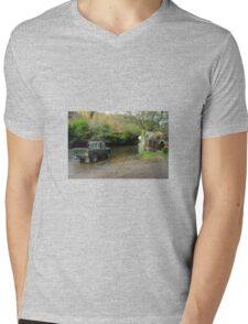 Landrover and the Ford  Mens V-Neck T-Shirt