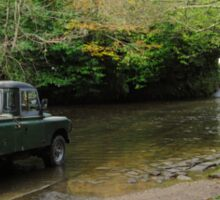 Landrover and the Ford  Sticker
