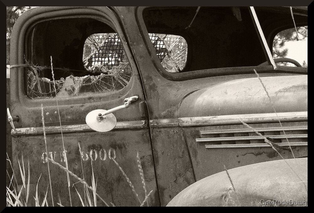 Old Work Truck by OneRudeDawg