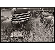 Old Work Truck Photographic Print