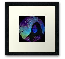 Galaxy Taeyeon Framed Print