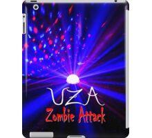 UZA Zombie Attack Light Blue iPad Case/Skin