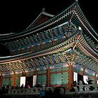 Gyeongbok at Night by Jeanne Frasse