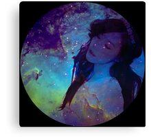 Galaxy Tiffany Canvas Print