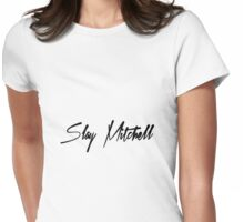 Slay Mitchell Womens Fitted T-Shirt