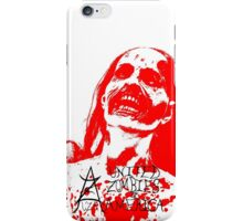 Red Zombie iPhone Case/Skin