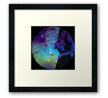 Galaxy Yoona Framed Print