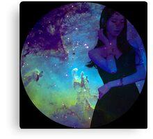 Galaxy Yoona Canvas Print